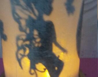 glowing bell jar