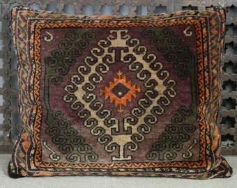 Vintage Rug Cushion Cover 60x55 cms