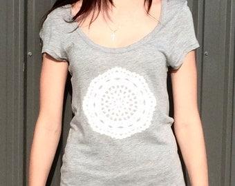 Doily T-Shirt Dress