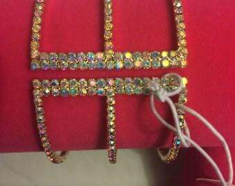 Crystal encrusted stretch bracelet!!
