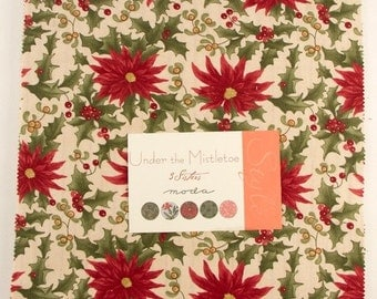 Under the Mistletoe by 3 Sisters for Moda Layer Cake