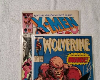 Wolverine #18 and Uncanny X-Men #193