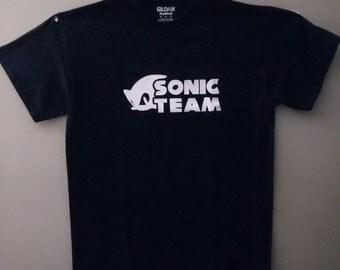 sonic team tshirt
