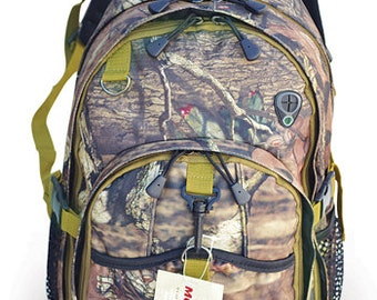 Camo Backpack, Personalized Backpack, Mossy Oak. Camping