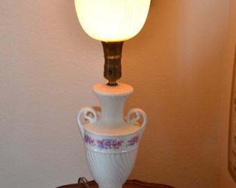 Vintage urn style lamp