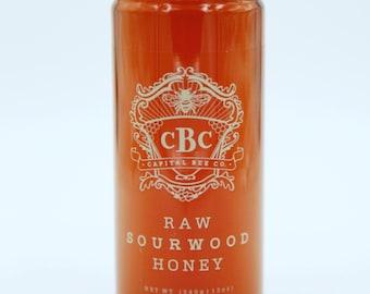 Raw Sourwood Honey 12oz