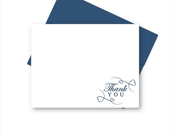 Wedding Thank You Cards, Thank you Stationery Set, Thank You Note Cards for Her, Thank You NoteCards, Thank you Card set