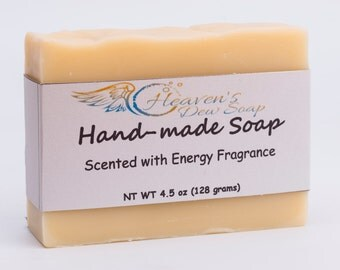 Handmade Energy Citrus Soap  Cold Process Bridal Shower, Wedding Favor, Baby Shower, Artisan Soap, Gift Soap, Wholesale Available