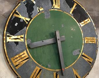German Bell Tower Clock Face