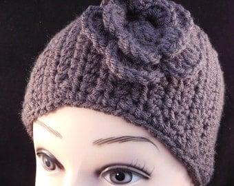 Charcoal Grey Head and Ear Warmer
