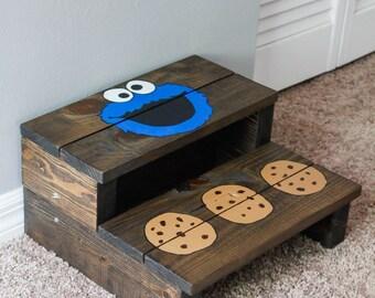 Wooden Step Stool By Alovelyrecoveryshop On Etsy