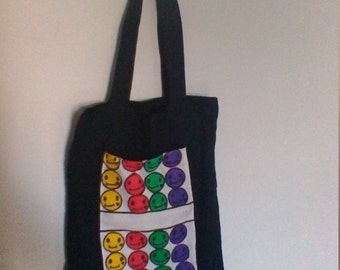 smileys tote bag