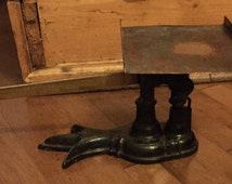 Antique Claw-Foot Fairbanks Scale - Cast Iron & Brass - In Working condition! EARLY 1900's!