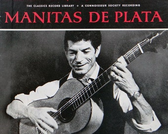 "One ""Mantitas De Plata"" Flamenco Guitar 3 record box set"