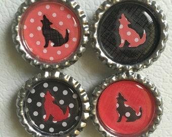 Wolfpack Magnet Set