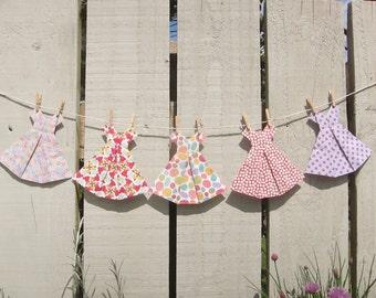 Origami Dress Bunting