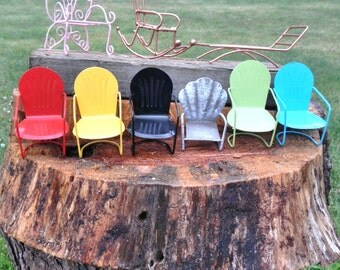 Miniature Garden   Lawn Furniture   Butterfly Chair   Glider Chairs    Lounge Chair   Rocking