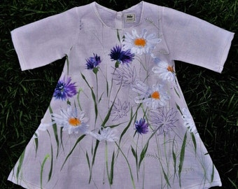 dress summer girl floral embroidery