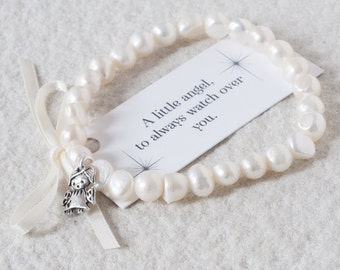Little Angel Pearl Bracelet