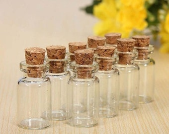 Mini bottle with Cork