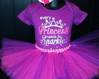 Princess Fairy Onesie 12 mos.