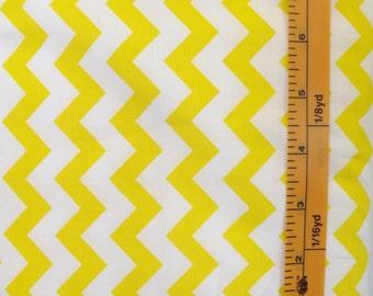 Choice Fabrics, Chevron, Yellow, 48053, yellow and white chevron print quilting fabric