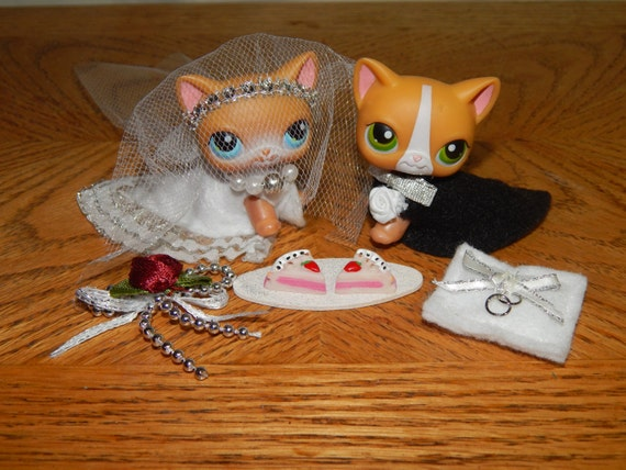 Lps Custom Bride Groom 2 Outfits Clothing Accessories Wedding