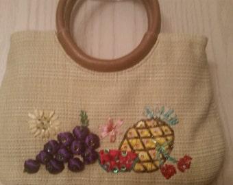Smally Fruity  Vegan Handbag