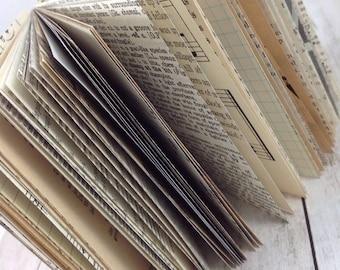 Mixed Paper Journal, Journal, Mixed Paper Journal, Journal, Smash Book, Art Book, Junk Journal, Mixed Paper Junk Journal 4x4104