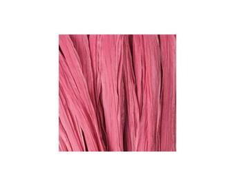 Raffia raspberry mast - artificial raffia - 10gr - raffia Ribbon - raffia thread