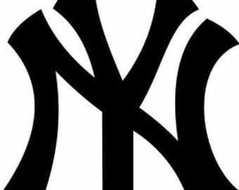 New York Yankees vinyl decal