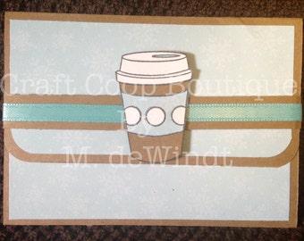 Handmade Pop-up Gift Card Holder