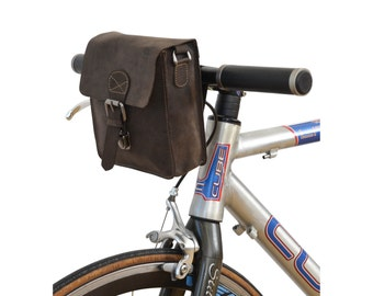 Gusti 'Greg L.' leather cross-body and bicycle bag