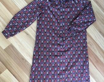 Vintage Henry Lee Shirt Dress Size 14 XL
