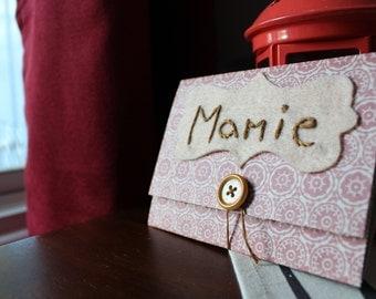 Carte d'anniversaire // Mamie //Grand-mère // Grand-maman // Carte de fête // Carte de souhait // Cadeau pour elle