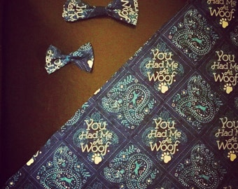 Dog bandanas & bow-ties