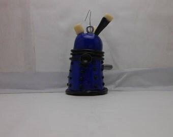Blue Polymerclay Dalek