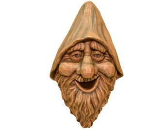 Birdie In the Woods Birdhouse~ Harry Face~Easy to Hang~Easy To Clean~Yard Garden Conversation Piece