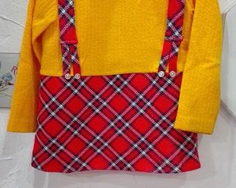 Scottish child dress 1970