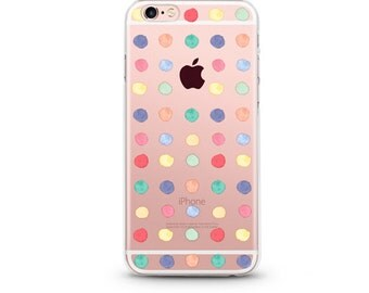 Silly Dots Slim iPhone 7 case, hard iPhone 7 case, iPhone case clear,