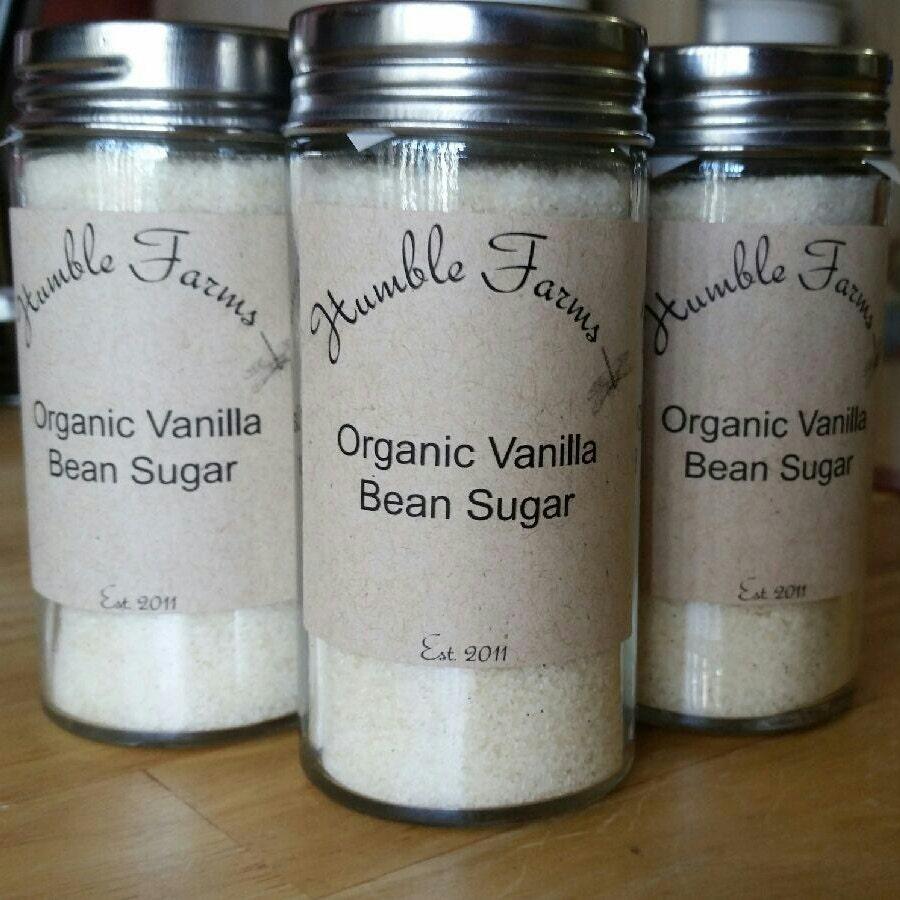 Organic Vanilla Bean Sugar