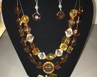 necklaces with jewelry 3 piece set