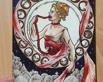 Zombie Nouveau - A5 print