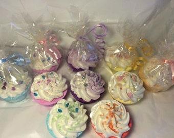 Gorgeous Bubble Bomb Cupcakes