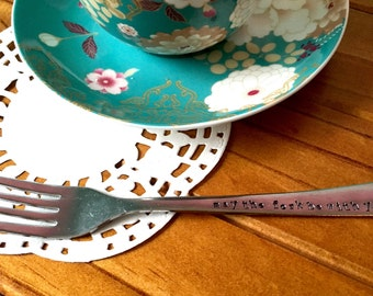 May The Fork Be With You. Personalized Fork. Star Wars