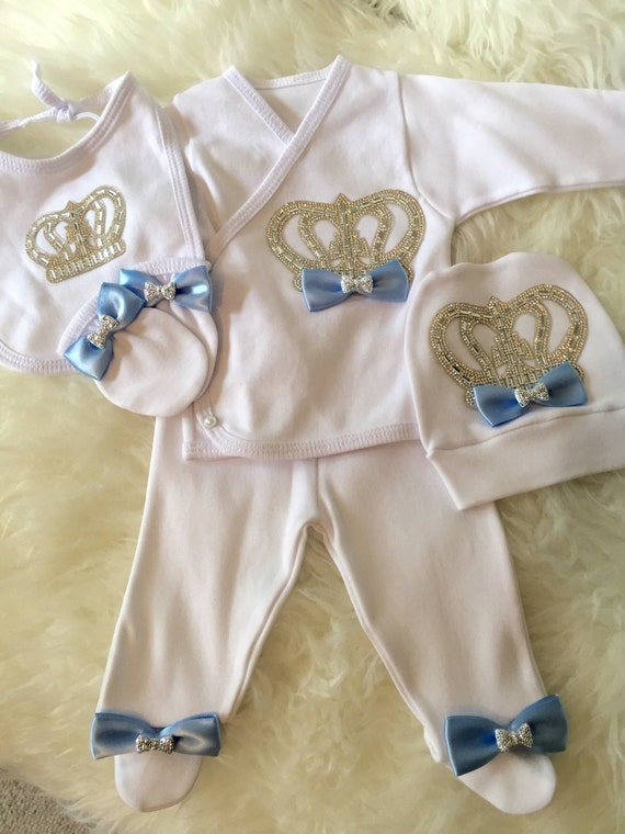 Newborn Take Home Outfit Baby Boy Coming Home Outfit Baby Boy