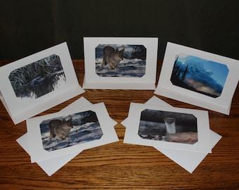 Alaskan Photographic Greeting Cards, Photo Card Set, Photographic Art Cards, Fine Art Photography Card Set, Greeting Cards, Blank