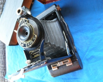 Vintage Kodak No. 2-C  Folding Autographic Brownie Camera Made in USA 1916 - 1927