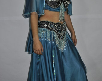 belly dance stormy blue