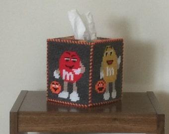 Halloween Candy Tissue Holder